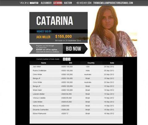 CONEJITOS.NET - Brasileña subasta su virginidad - Sexo Gratis - Cibersexo - Chicas Amateur