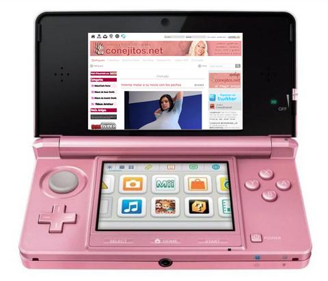 CONEJITOS.NET - Porno en la Nintendo 3DS de un niño - Sexo Gratis - Cibersexo - Chicas Amateur